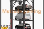 Elevador de tres niveles para autos