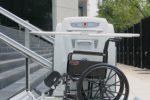 Elevador ideal para silla de ruedas y personas con discapacidad